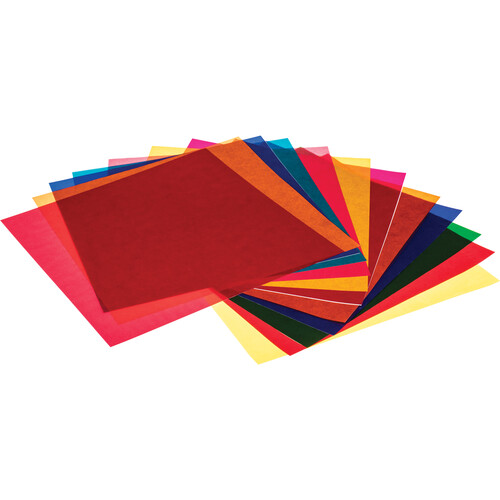 "Pro Gel Vivid Colors Filter Pack 12 x 12"" (30.5 x 30.5 cm)"
