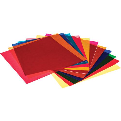 """Pro Gel Vivid Colors Filter Pack 12 x 12"""" (30.5 x 30.5 cm)"""