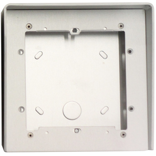 Comelit Natural Anodized Aluminum Housing with Rain Shield (1 Module, 5.3 x 5.3 x 3.6'')