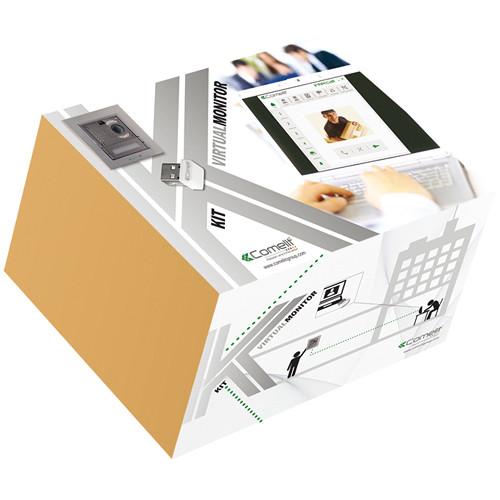 Comelit 8501IM Single-Family VIP Kit with Ikall and PC Intercom