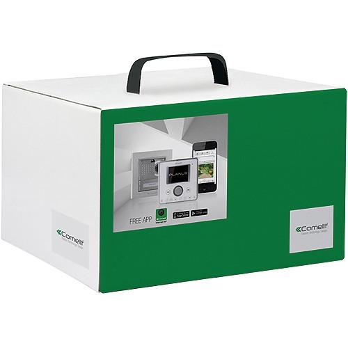 Comelit 8511IM Single-Family VIP Kit with Ikall Metal and PC Intercom