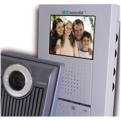 Comelit Color Hands-Free Expandable Video Intercom System