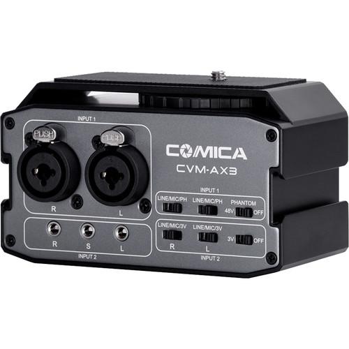 Comica Audio CVM-AX3 Dual-Channel Audio Mixer for DSLRs