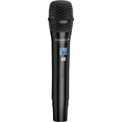Comica Audio UHF Wireless Handheld Transmitter Microphone for CVM-WM100