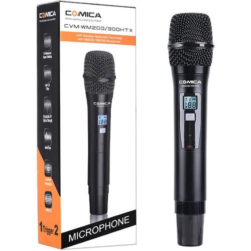 Comica Audio CVM-WM200300HTX Wireless Handheld Microphone (520 to 578 MHz)