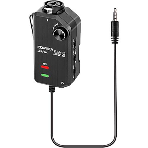 Comica Audio Single-Channel Audio Mixer for Camera and Smartphone