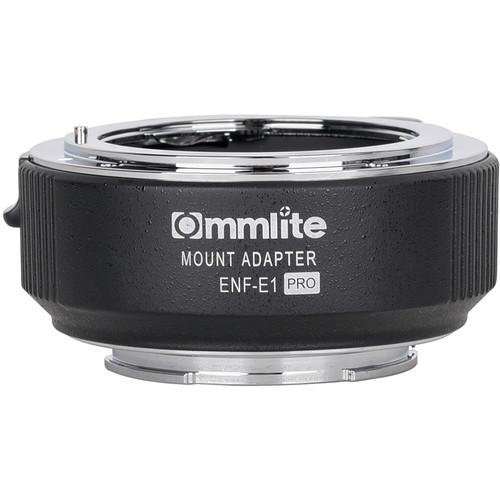 Commlite Electronic Autofocus Lens Mount Adapter for Nikon F-Mount Lens to Sony E-Mount Camera