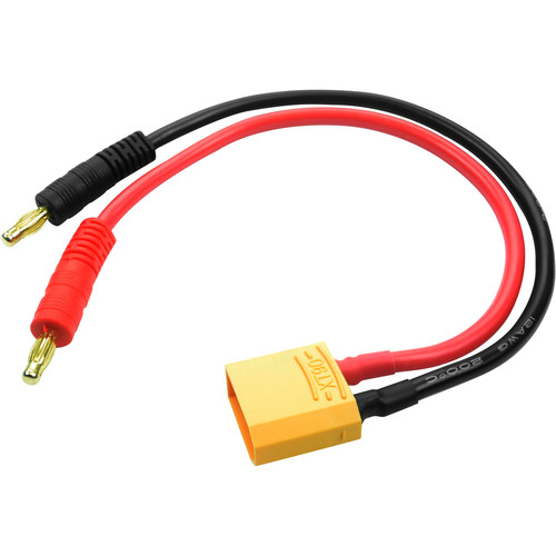 Common Sense RC XT90 Charging Adapter with Banana Plugs