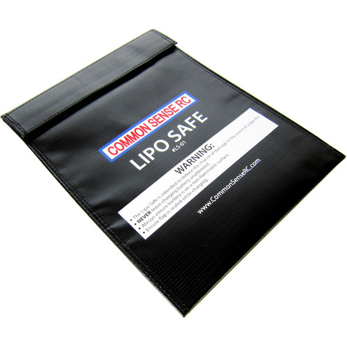 "Common Sense RC LiPo Safe Charging/Storage Bag (9 x 12"")"