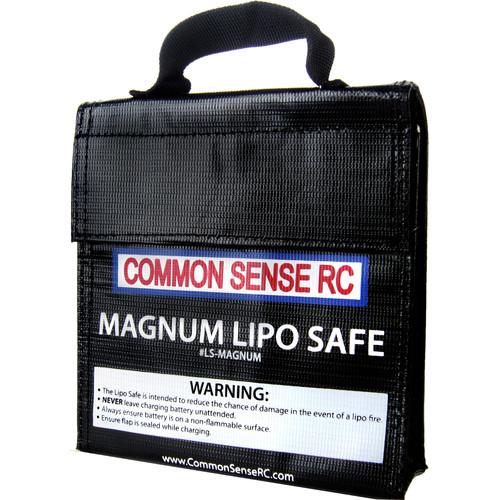 "Common Sense RC Magnum LiPo Safe Charging/Storage Bag (7 x 6.25 x 1.75"")"
