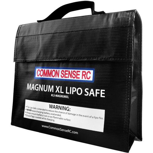 "Common Sense RC Magnum XL LiPo Safe Charging/Storage Bag (9.5 x 7.00 x 2.25"")"