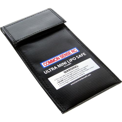 "Common Sense RC Ultra Mini LiPo Safe Charging/Storage Bag (4 x 8"")"