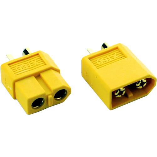 Common Sense RC XT60 Connector (1 Male and 1 Female)