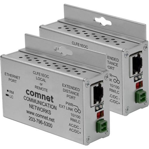 COMNET CLKFE1EOC Copper Kit with 2 CLFE1EOC Ethernet Extender & 2 CAB-CAT5e Cable