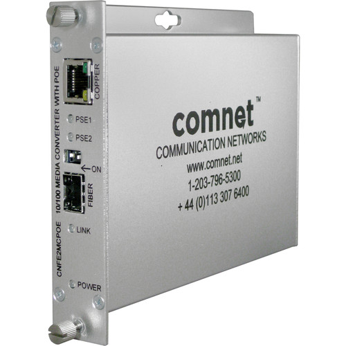 COMNET 10/100Mbps 2-Port Ethernet Media Converter