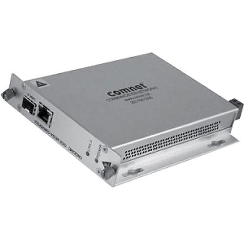 COMNET 2-Port Single-Channel 10/100/1000Mbps Ethernet Media Converter