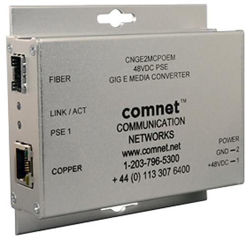 COMNET Small-Sized 2-Port Single-Channel 10/100/1000Mbps Ethernet Media Converter