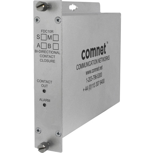 COMNET ComFit Contact Closure Multimode Transceiver (1310/1550nm, 10 mi)
