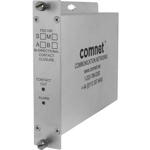 COMNET ComFit Contact Closure Multimode Transceiver (1550/1310nm, 10 mi)