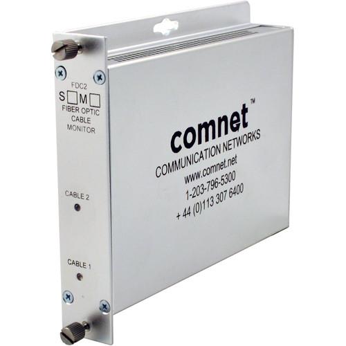 COMNET Single Mode Dual-Channel Fiber Optic Cable Break Detector (Up to 22.4 mi)