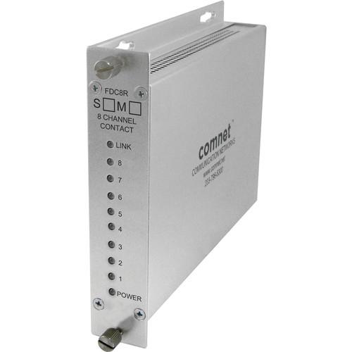 COMNET 8-Channel Contact Closure Multimode Receiver (10 mi)