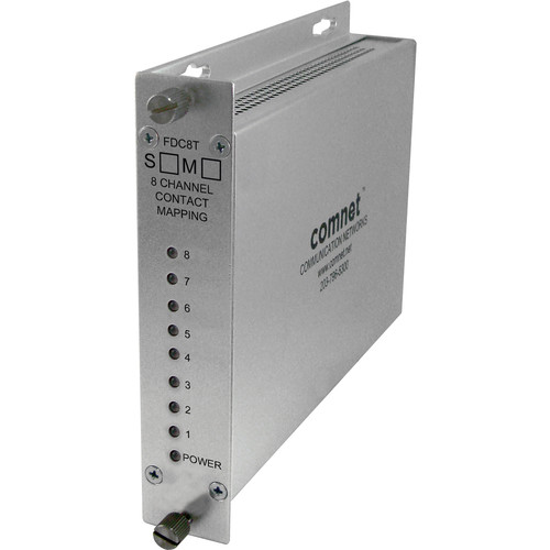 COMNET 8-Channel Contact Mapping RS-232 Encoder