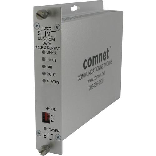 COMNET Multimode Universal Data Drop & Repeat Multi-Protocol Data Transceiver (Up to 2.5 mi)