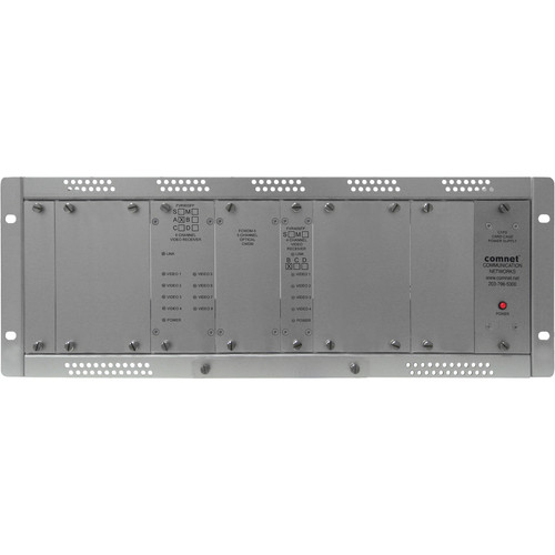 COMNET 12-Channel Single Mode 10-Bit Digital/Short Haul Video Receiver (Up to 35 mi)
