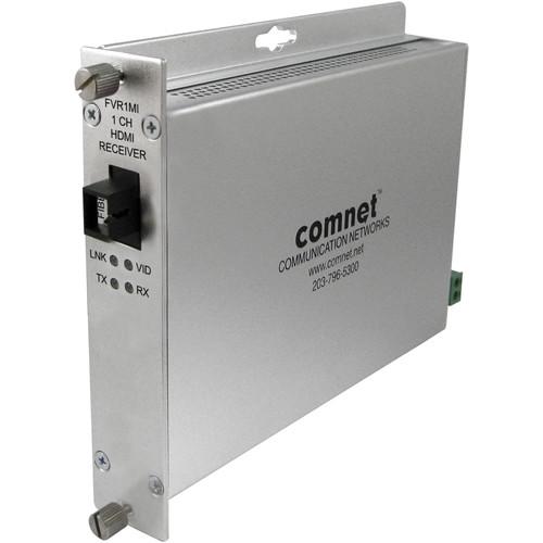 COMNET Single Channel HDMI Digital Interface Multimode Fiber Link Receiver (Up to 3280')
