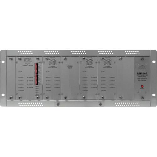 COMNET Single Mode 10-Bit 32-Channel Video Receiver/8-Channel Bi-Directional Data Transceiver (Up to 22 mi)