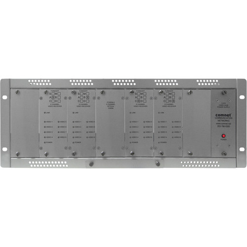 COMNET 32-Channel Single Mode Digital Video Receiver (Up to 35 mi)