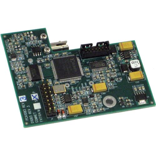 COMNET Single Mode 10-Bit Digital Video Transmitter / Bi-Directional Data Transceiver for Pelco Dome Cameras (Up to 37 mi)