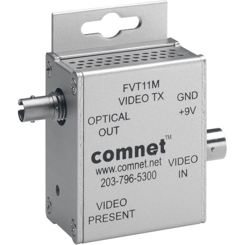COMNET Multimode 850nm Mini Video Transmitter (Conformally Coated Circuit Boards, Up to 2.5 mi)