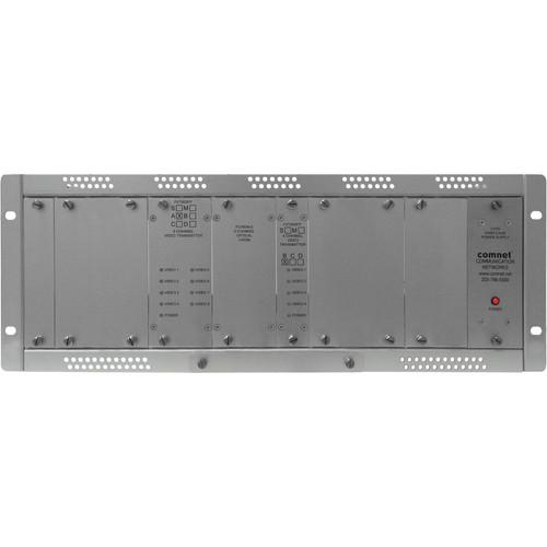 COMNET 12-Channel Single Mode 10-Bit Digital/Short Haul Video Transmitter (Up to 35 mi)