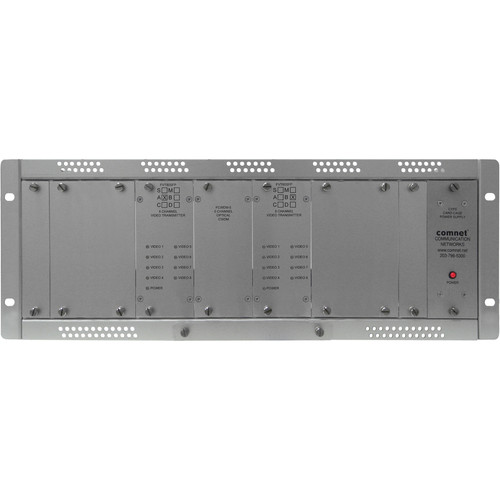 COMNET Multimode 16-Channel 10-Bit Digital Video Transmitter (Up to 0.621 mi)
