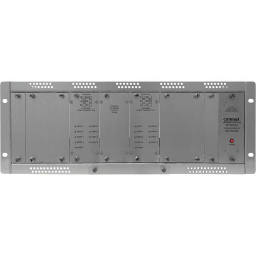 COMNET Single Mode 16-Channel 10-Bit Digital Video Transmitter (Up to 35 mi)