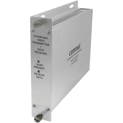 COMNET Analog Video/Serial Data Transmitter for Bosch VG4 Domes (Multimode, ST)