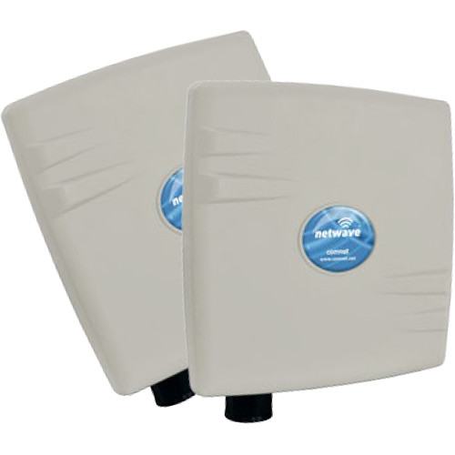 COMNET NetWave Mini Industrially Hardened Point-to-Point Wireless Ethernet Kit (North America)