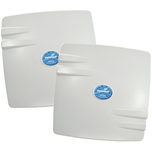 COMNET NetWave Industrially Hardened Point-to-Point Wireless Ethernet Kit