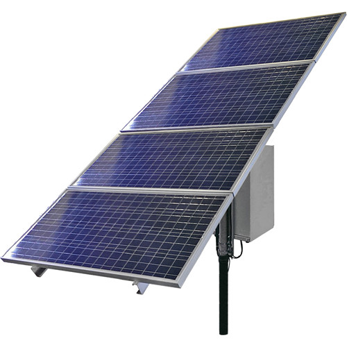 COMNET NetWave Solar Power Ethernet Kit for Remote Locations with 3 Hour Peak Sunlight (30W Continuous Power)