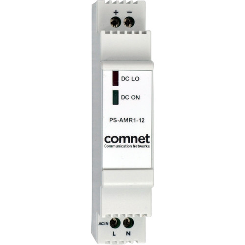 COMNET PS-AMR Series 12V Industrial DIN Rail Mounting Power Supply (10W)