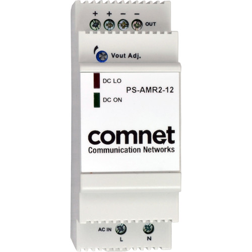 COMNET PS-AMR Series 12V Industrial DIN-Rail Mounting Power Supply (24W)