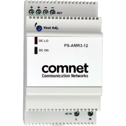 COMNET PS-AMR Series 12V Industrial DIN-Rail Mounting Power Supply (33W)