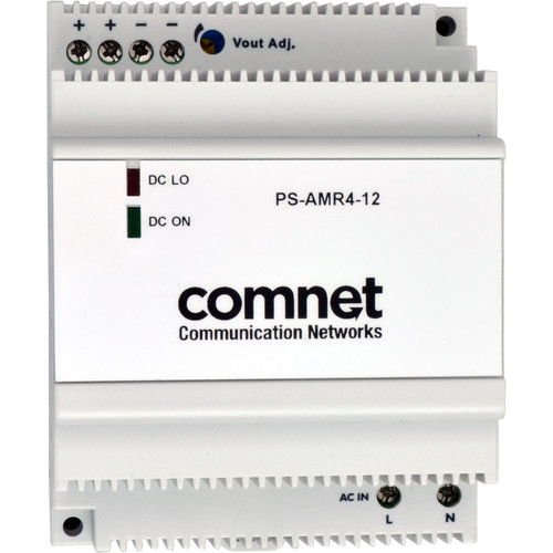 COMNET PS-AMR Series 12V Industrial DIN Rail Mounting Power Supply (54W)