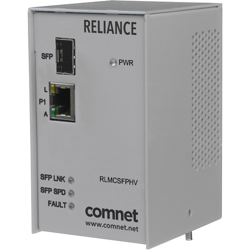 COMNET Electrical Substation-Rated 10/100/1000 Mbps Media Converter