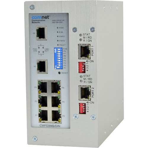 COMNET EoVDSL Drop-and-Repeat/Point-to-Multipoint over Copper Cable Transmission System
