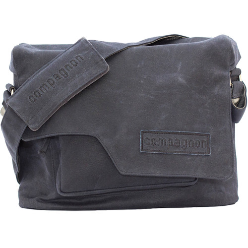 compagnon Messenger Camera & Laptop Bag (Dark Blue)
