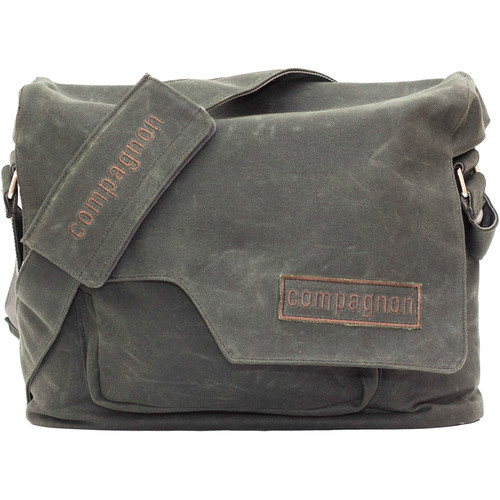 compagnon Messenger Camera & Laptop Bag (Dark Green)