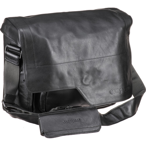 "compagnon ""the messenger"" Generation 2 Camera Bag (Black, Leather)"