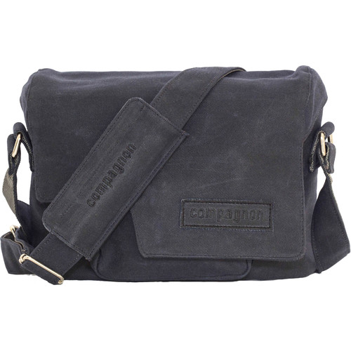 compagnon Little Messenger Camera & Laptop Bag (Dark Blue)